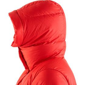 Fjällräven Expedition Pack Parka En Duvet Long Femme, true red